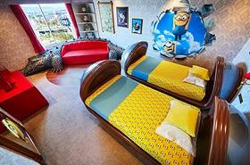 USJオフィシャルホテルのキャラクタールーム