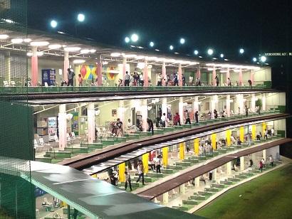 兵庫県の深夜営業の打ちっ放し:青山ゴルフ練習場